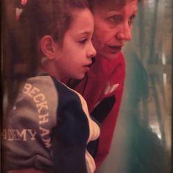 FOTO/ Mamă și fiică, antrenament pe semicerc