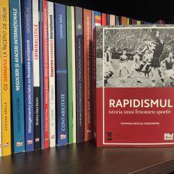 """Cartea """"Rapidismul. Istoria unui fenomen sportiv"""", scrisă de istoricul Pompiliu-Nicolae Constantin a apărut"""