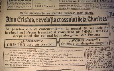 """Povestea lui Dinu Cristea, un etalon al atletismului românesc, pe care """"pusul la colț"""" l-a făcut celebru"""