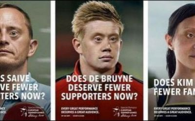 Campanie inedită în Belgia pentru susținerea Special Olympics