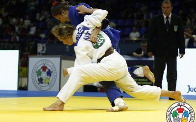 Ștefania Dobre, argint la judo, a câștigat prima medalie a României la JO de Tineret