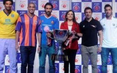 Eurosport transmite prima ediţie a Super Ligii Indiene de fotbal