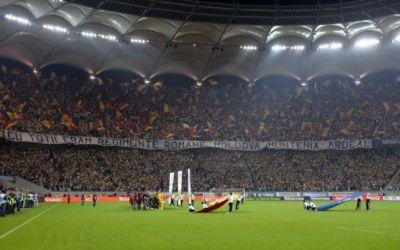 Bucureștiul, paralizat de meciul România-Ungaria