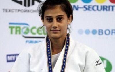 Larisa Florian, vicecampioană mondială de juniori la judo