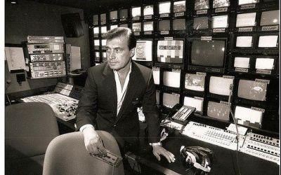 A murit omul cu reluările TV