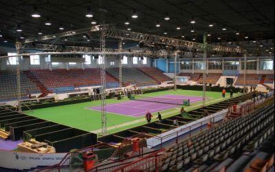 Fed Cup, România-Spania: Arena din Galati este gata pentru meci