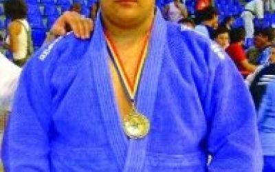 Vlăduţ Simionescu, medalie de aur la Openul de judo de la Sofia