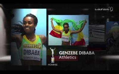 Genzebe Dibaba și Novak Djokovic, câștigătorii premiilor Laureus