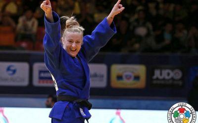 Corina Căprioriu, medalie de argint la Grand Slam-ul de judo de la Tiumen