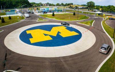 Universitatea din Michigan a construit un oraș artificial dedicat testării de mașini autonome