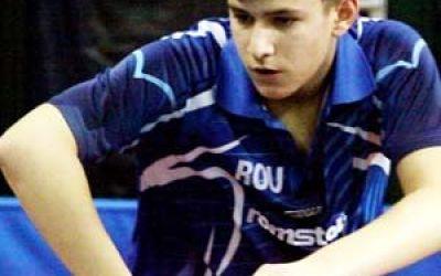 Cristian Pletea ocupă locul întâi în clasamentul mondial de tenis de masă la U15