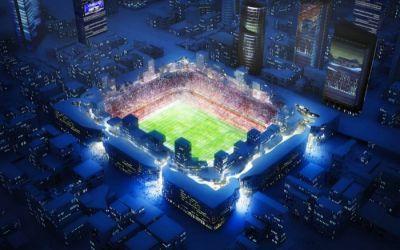 FOTO : Cum vor arăta stadioanele viitorului