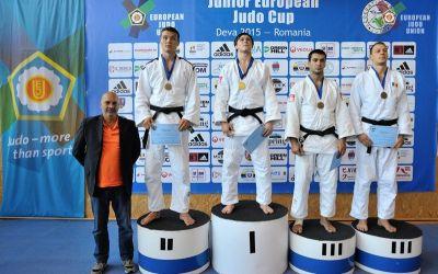 Judo de viitor: 16 medalii pentru România, la Cupa Europeană de juniori