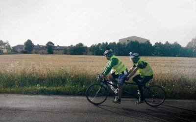 Cursa Dunării Călărășene va include Campionatul Național de Tandemuri, la care nevăzători vor pedala alături de persoanele valide