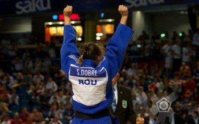 Performanța zilei vine din judo: aur pentru Ștefania Dobre la Europenele de juniori din Austria