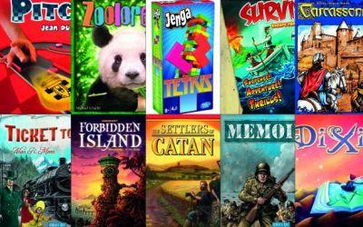 Cele mai cunoscute 20 de boardgames pentru începători
