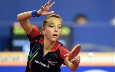 Eliza Samara și-a asigurat medalia de bronz si la simplu, şi  la dublu, la Europeanul de tenis de masă