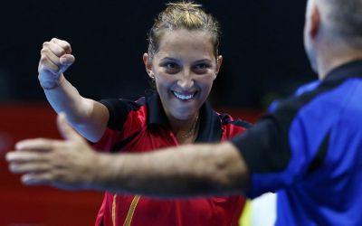 Eliza Samara e în finala la simplu la Europenele de tenis de masă