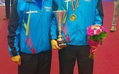 Cristian Pletea a câștigat turneul Europa Top 10 la tenis de masă