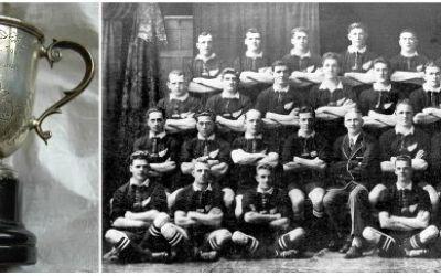 """Crâmpei de istorie : """"Loving Cup"""", un trofeu în amintirea invincibililor All Blacks"""