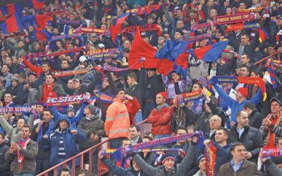 Steaua, Dinamo, CFR Cluj și Universitatea Craiova au cei mai mulți fani din România, potrivit unui sondaj CSCI