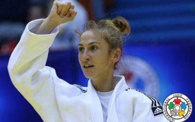 Judoka Monica Ungureanu a câștigat Grand Prix-ul de la Tbilisi