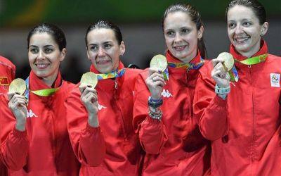 Aur și emoții: echipa de scrimă a spart tensiunea cu prima medalie la Rio