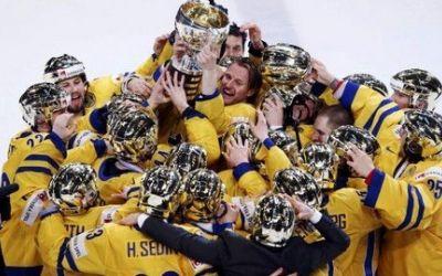 Suedia, noua campioană mondială la hochei