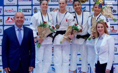 Monica Ungureanu, aur la categoria 48 kg la Openul European de Judo de la București