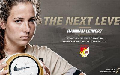Interviu exclusiv cu fotbalista Hannah Leinert (CFF Olimpia Cluj): Vreau să îmi ajut echipa să atingă noi culmi în Champions League!