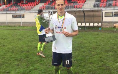 Interviu exclusiv cu Ovidiu Tăcuțanu, marcatorul primului gol al Științei Miroslava în liga secundă