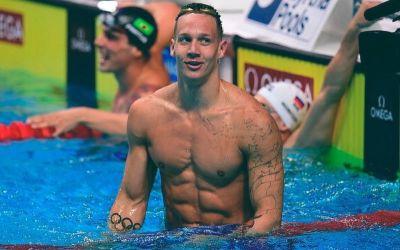 Calaeb Dressel și caietele sale cu notițe: cum se perfecționează un campion mondial la înot