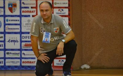 Interviu exclusiv cu Horațiu Pașca / CSM Bistrița s-a întărit considerabil, iar pretențiile la rezultate sunt pe măsură