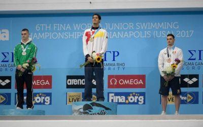 Daniel Martin încheie un Mondial de Juniori excelent cu un loc patru la 200 metri spate