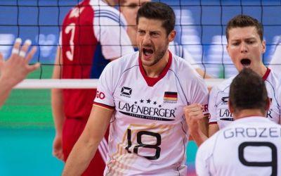 Germania românului Michael Andrei și Rusia vor disputa finala Europeanului de volei masculin