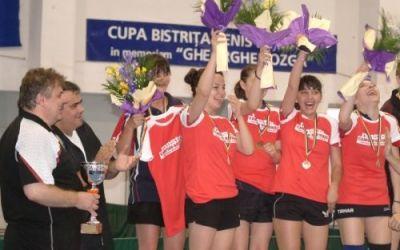CSM Bistrița este campioana României la tenis de masă feminin, după 5-2 cu Hidro Slatina