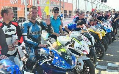 Cătălin Cazacu și Ionel Pascotă au câștigat etapa a patra a Campionatului de Motociclism al României
