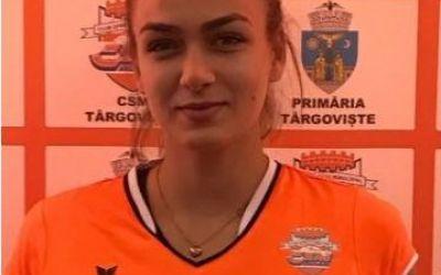 Interviu exclusiv cu voleibalista Adina-Maria Roșca (CSM Târgoviște) despre carieră, obiective și pasiuni