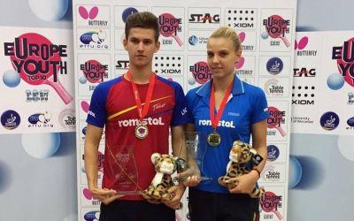 Adina Diaconu și Cristian Pletea au câștigat Europe Youth Top 10