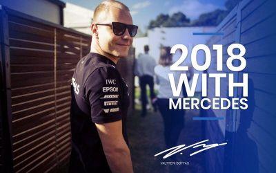 Bottas rămâne la Mercedes până la sfârșitul sezonului 2018