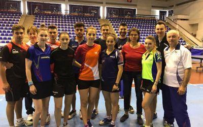 Naționala feminină de tenis de masă s-a calificat în sferturi la Europene, echipa masculină se bate pentru locul 9