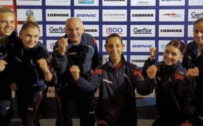 Aur pentru România! Samara, Dodean și Szocs sunt campioane europene la tenis de masă, după ce au învins Germania în finală