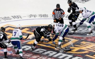 NHL: Los Angeles Kings câștigă primul meci din pre-sezon în China