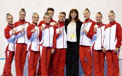 România a cucerit patru medalii la Europenele de gimnastică ritmică rezervate juniorilor