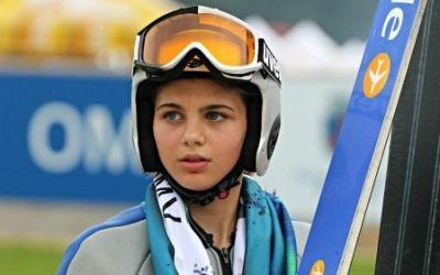 Dana Haralambie, dublă victorie în Cupa FIS la sărituri cu schiurile de la Râșnov