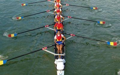 România participă cu șase echipaje la Campionatele Mondiale de canotaj