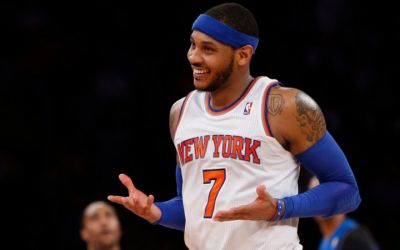 Carmelo Anthony trece la Oklahoma City după un schimb neașteptat cu New York Knicks