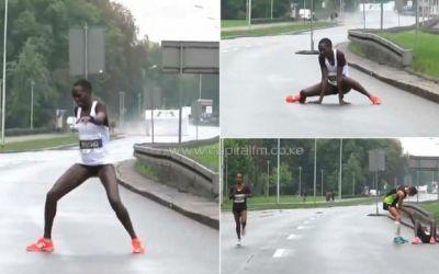 VIDEO / Scandal la Maratonul Varșovia: organizatorii sunt acuzați de lipsă de umanitate de către kenyanca Recho Kosgei, lider până în ultimul kilometru