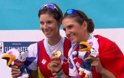 Aur pentru România prin echipajul Lehaci-Beleagă, la Mondialele de canotaj
