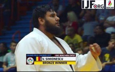 Judoka Vlăduț Simionescu a cucerit medalia de bronz la Grand-Prix-ul de la Zagreb